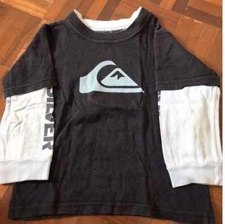 Authentic QUIKSILVER Long Sleeve Tee