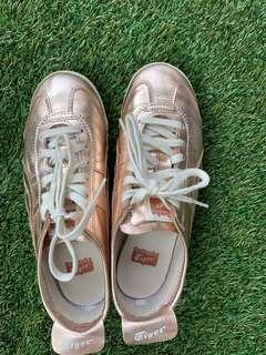 Onisuka Tiger rose gold Shoes