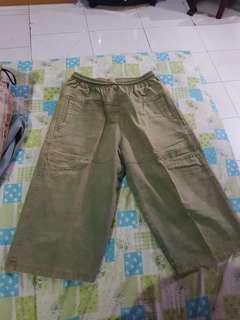 Celana jeans 3/4