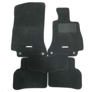 Mercedes Benz C-Class W205 model Car Mats (Premium Velvet) - Ready Stock