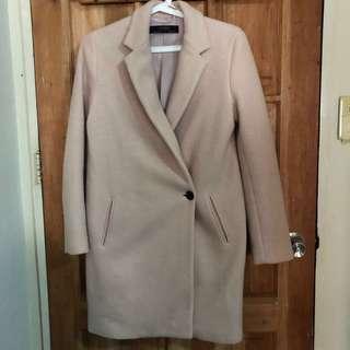 Zara Autumn/Winter Coat - Blush