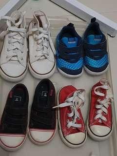 Kidd shoes Nike Converse Vans