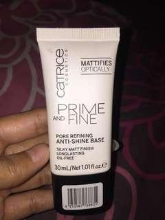 Prime and Fine pore refining anti shine base