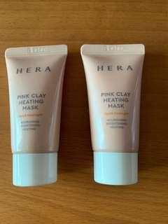 Hera Pink Clay Heating Mask