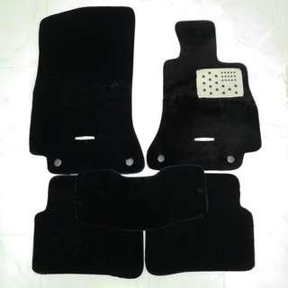 Mercedes Benz C-Class W205 Luxury Cashmere Car Mats (Ready Stock)