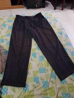 Nobrand celana bahan kerja for man
