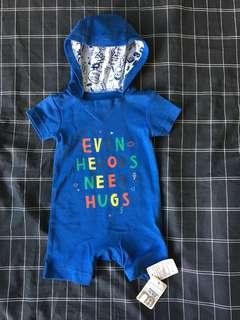 BNWT Mothercare Onesie with Hoodie