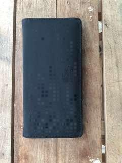 Navy blue long wallet