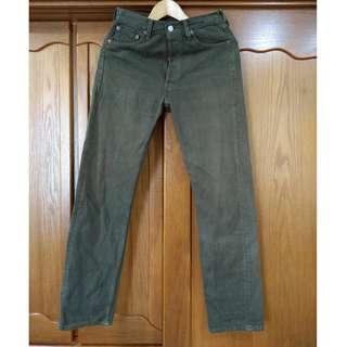 早期 1990年代 美製 vintage Levi's 501XX W29 L32 R標 古著單寧牛仔褲