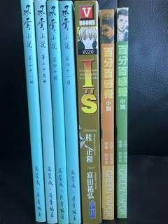 漫畫小說七本