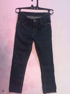 Celana jeans cheap monday blue dark original