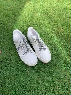 Pull and bear White Leather sneaker