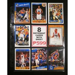 Andre Iguodala 8 Different Basketball Cards NBA Finals MVP