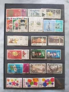 Hong Kong stamps