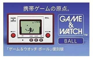 日本 Game and Watch Ball 2009 復刻紀念版 全新