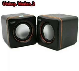 Speakers komputer dan laptop with volume 100% original