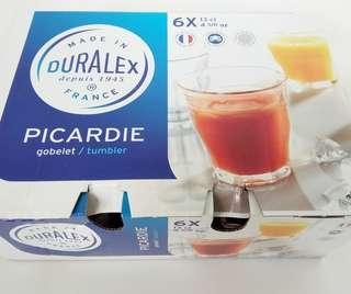 Duralex Picardie Tumbler 4 5/8oz set of 6