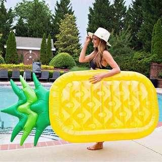 Pineapple giant float bed