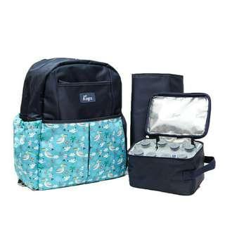 Allegra cooler bag and diaper bag