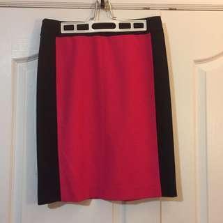 Olsen Pink Skirt Size 8 (S/M)