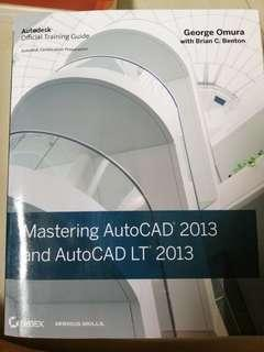 AutoCAD 2013 official guidebooks