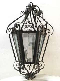 古董法式燈罩 Antique French Wrought Iron Lamp