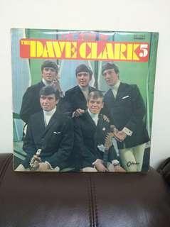 60年代 The Dave Clark 5  lp黑膠唱片 可樂膠 日本版
