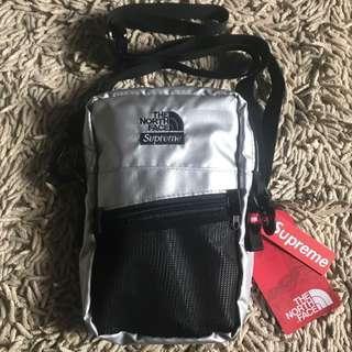 supreme x tnf sling bag