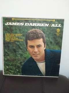 60年代 james Darren  lp黑膠唱片