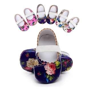 🚚 Baby Floral Shoes
