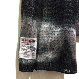 Pull n bear 漸層圍巾