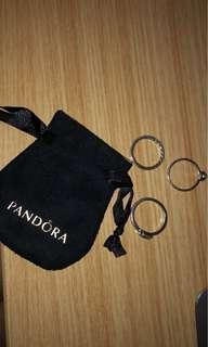 UNUSED Pandora and Michael Hill's jewelleries