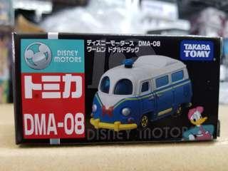 Takara Tomy 合金車仔 DMA-08 #129608 Disney Motors 10th Anniversary All Stars 唐老鴨 Donald Duck
