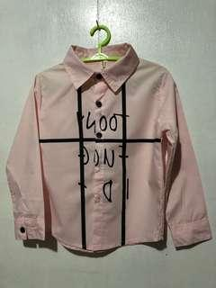 Pink Formal Long Sleeve 3T