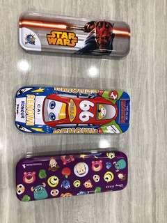 Assorted Used Pencil Cases