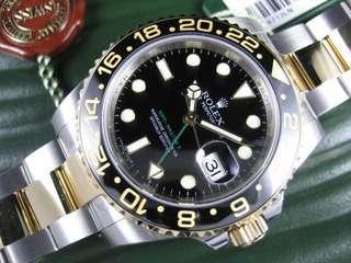 Rolex GMT Master 2 Half-Gold (LNIB)