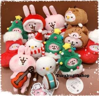旺角門市現貨 Kanahei 兔兔 P助 聖誕公仔 禮物 日本直送