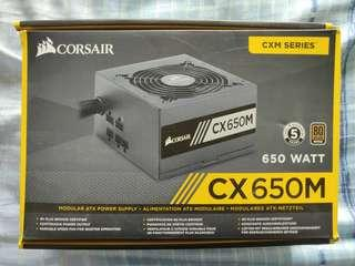 CORSAIR CX650M 650W 80 PLUS BRONZE POWER SUPPLY