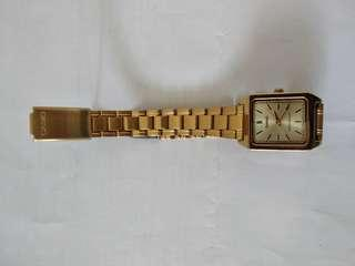 Casio Ladies Watch - S/S Gold Plated