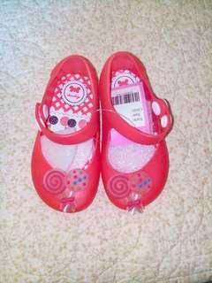 Baby Red Jelly Shoes