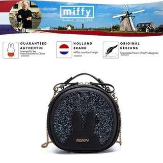 Miffy glittery shoulder bags