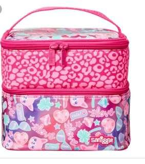 Smiggle lunch bag 2compartment rm59 NEW