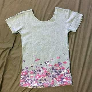 Low/Scoop back Shirt