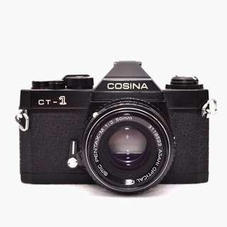 Cosina CT-1 + Pentax-M 50mm f2