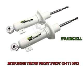 IRONMAN 4X4 FOAMCELL FRONT STRUT & REAR SHOCK ABSORBER FOR MITSUBISHI TRITON (24715FE & 24729FEC)