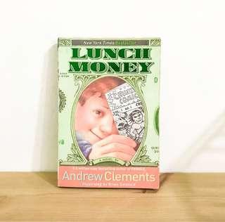 🚚 Lunch Money 書  英文小說 原文小說 兒童小說 國中英文小說 英文繪本 課文讀物 電影原文小說