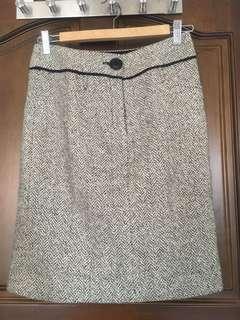 🚚 Mastina專櫃毛呢直筒裙