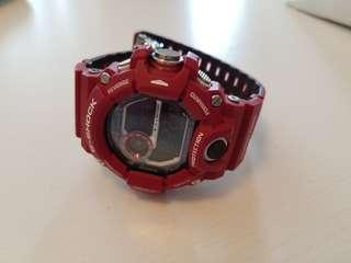 Casio G-shock GW9400 Rangeman 紅貓日版