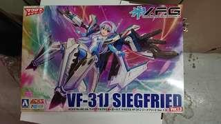 AOSHIMA 青島文化教材社 VFG Macross Delta VF-31JSiegfried version 1.3