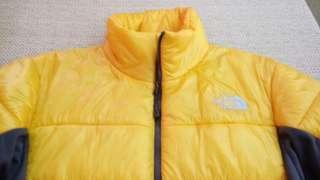 🚚 North Face 亮黃色 超輕量太空衣 防寒外套 滑雪衣中層 picture quicksilver